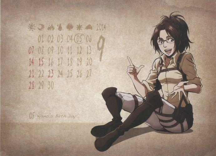 Shingeki no Kyojin Hange Zoe wallpaper