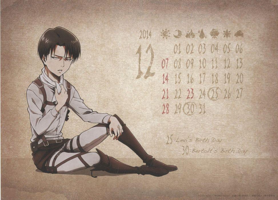 Shingeki no Kyojin Rivaille wallpaper