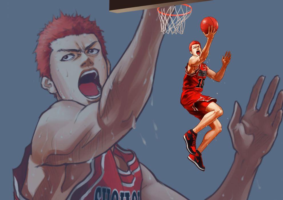 Slam Dunk Hanamichi Sakuragi wallpaper