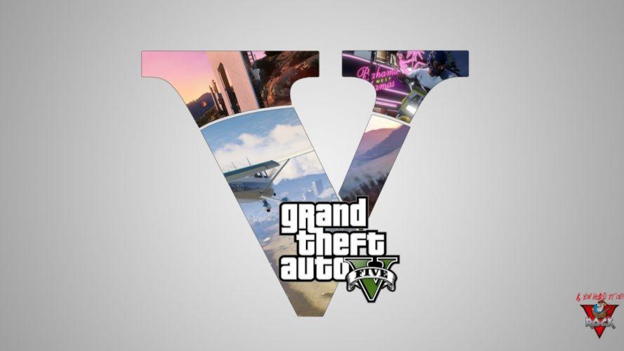 video games Grand Theft Auto GTA V wallpaper