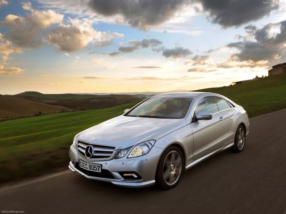 cars coupe Mercedes-Benz Mercedes-Benz E-Class wallpaper