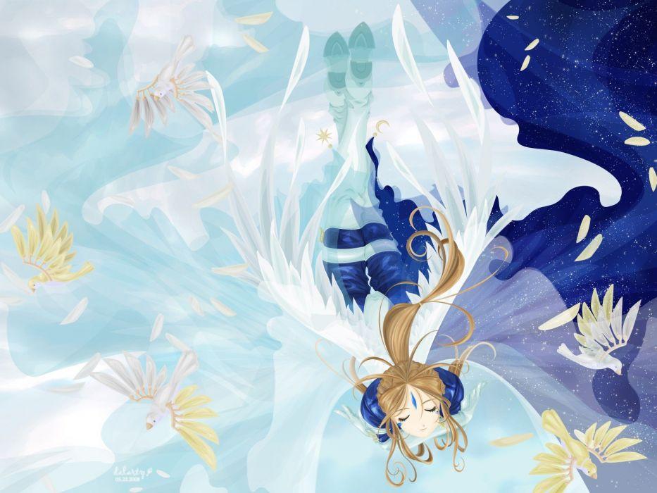 Ah! My Goddess anime anime girls wallpaper