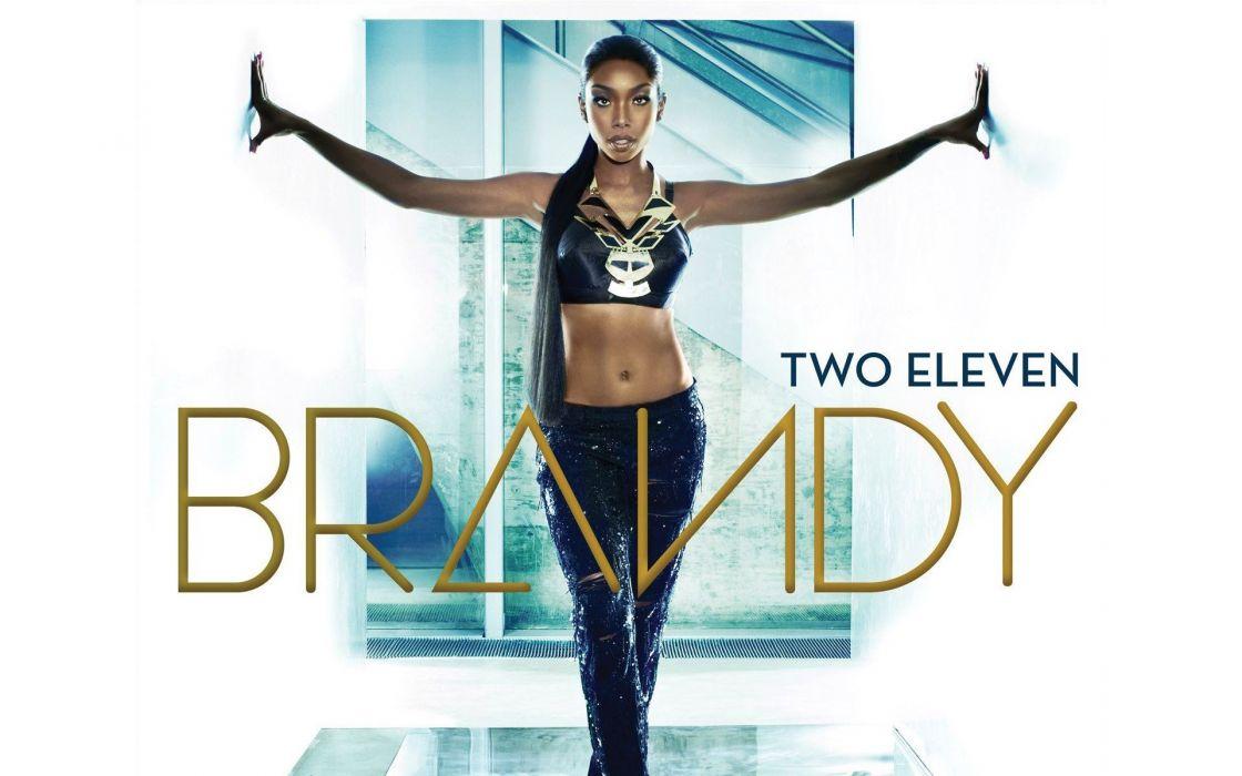 brunettes women black people singers album covers straight hair two Brandy Norwood wallpaper