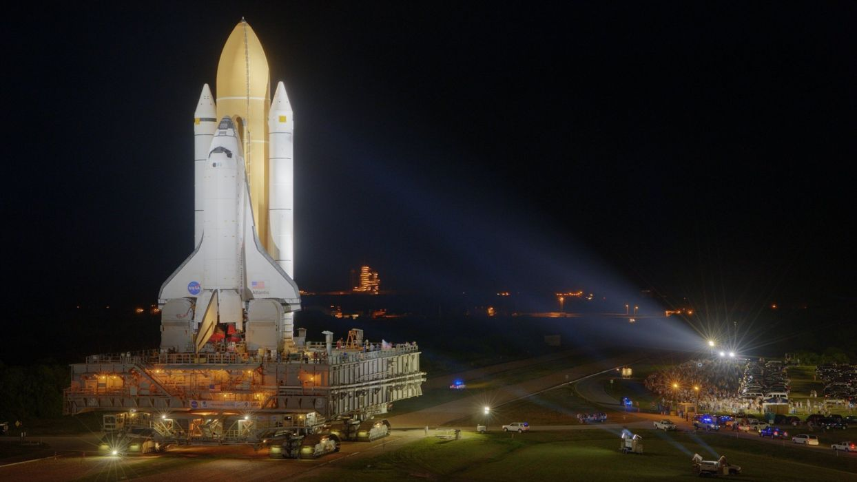 outer space Space Shuttle spaceships wallpaper