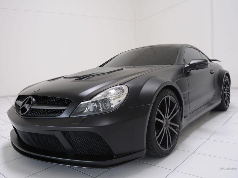 black cars Brabus Mercedes-Benz wallpaper
