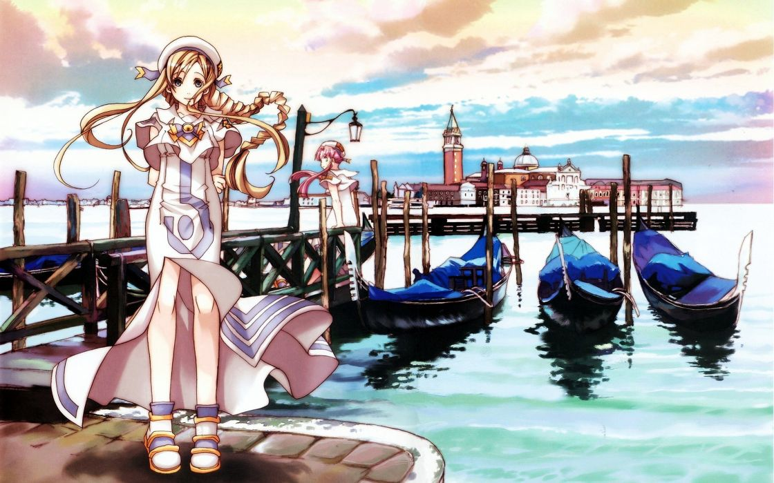Aria (Manga) Mizunashi Akari Alicia Florence wallpaper