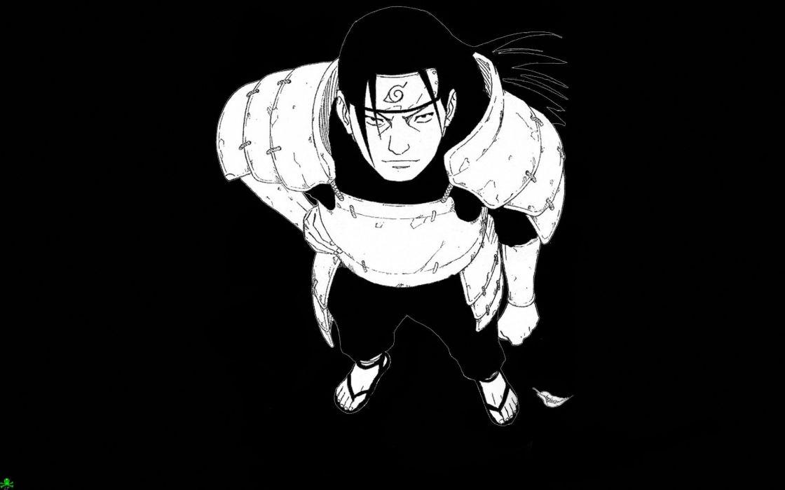 Naruto: Shippuden Hashirama Senju 1st Hokage simple background wallpaper