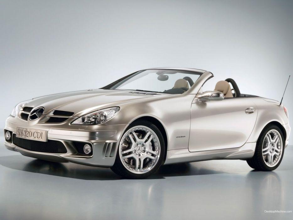 cars cdi Mercedes-Benz Mercedes-Benz SLK-Class wallpaper