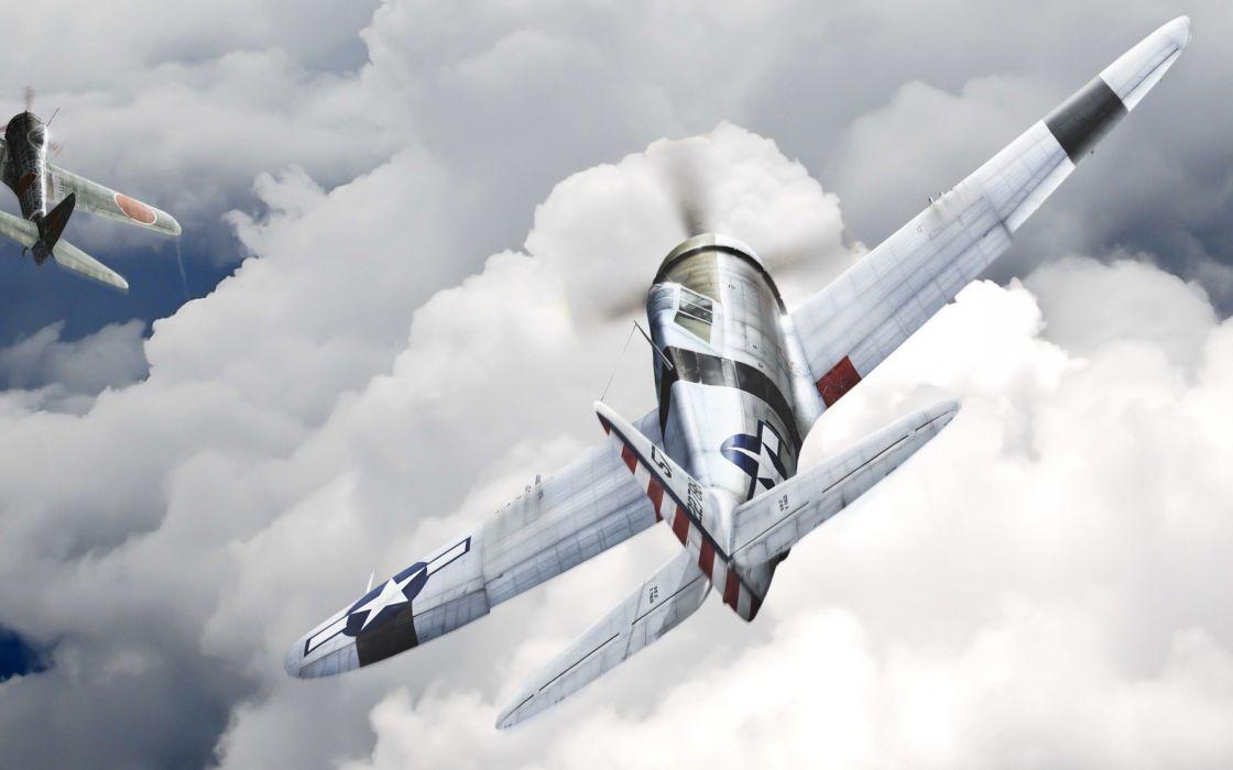 aircraft P-51 Mustang wallpaper