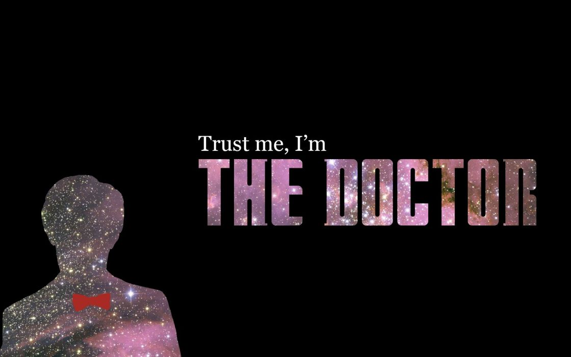 typography Eleventh Doctor Doctor Who wallpaper