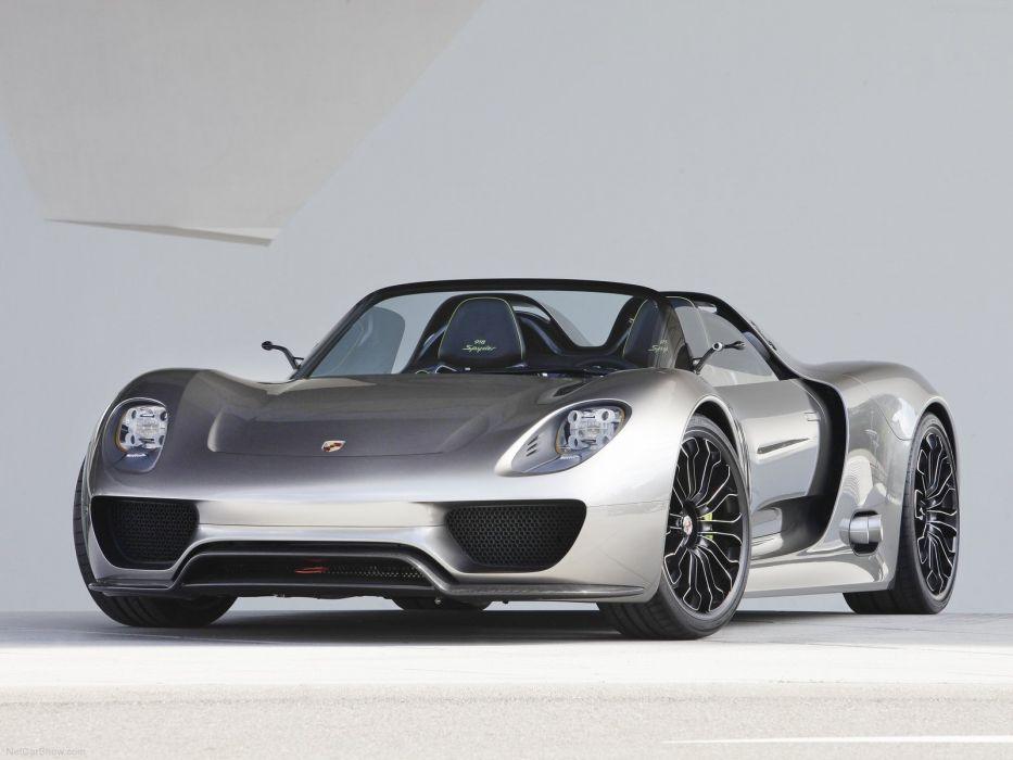 cars metallic concept art vehicles Porsche 918 Porsche 918 Spyder wallpaper
