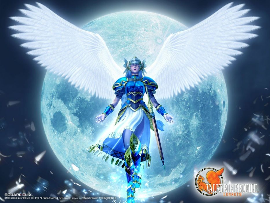 video games valkyrie Valkyrie Profile: Lenneth wallpaper