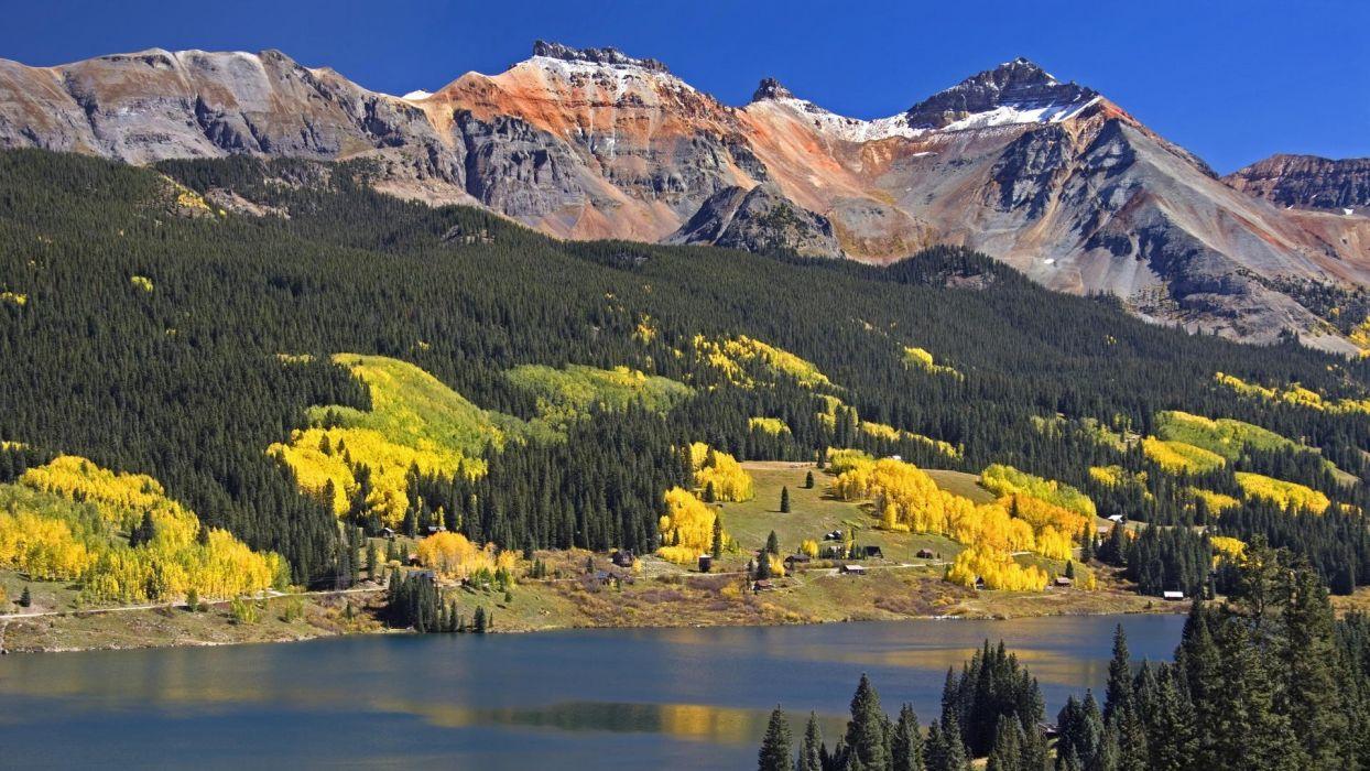 yellow head Colorado lakes colors trout wallpaper