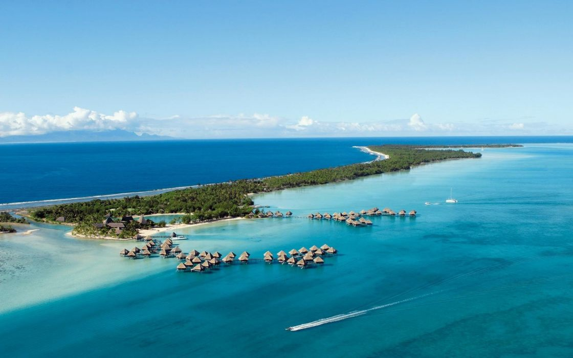 landscapes paradise islands wallpaper