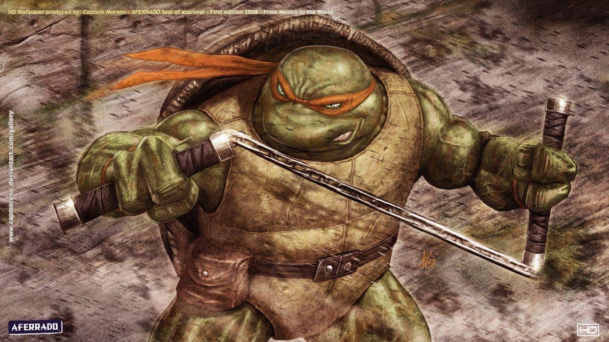 Teenage Mutant Ninja Turtles wallpaper