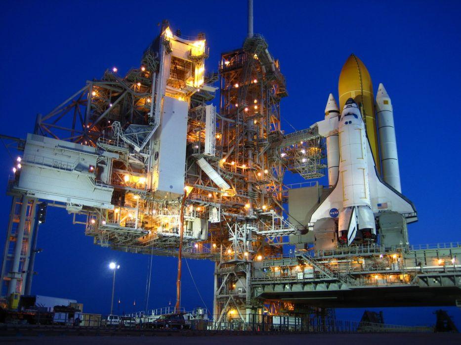 rockets Space Shuttle NASA launch pad wallpaper