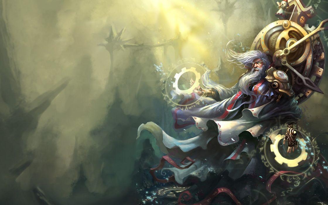 League of Legends Zilean the Chronokeeper wallpaper