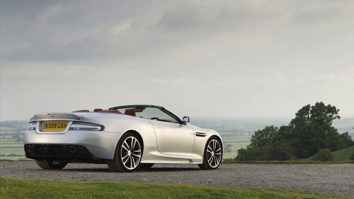 sunset cars Aston Martin wallpaper