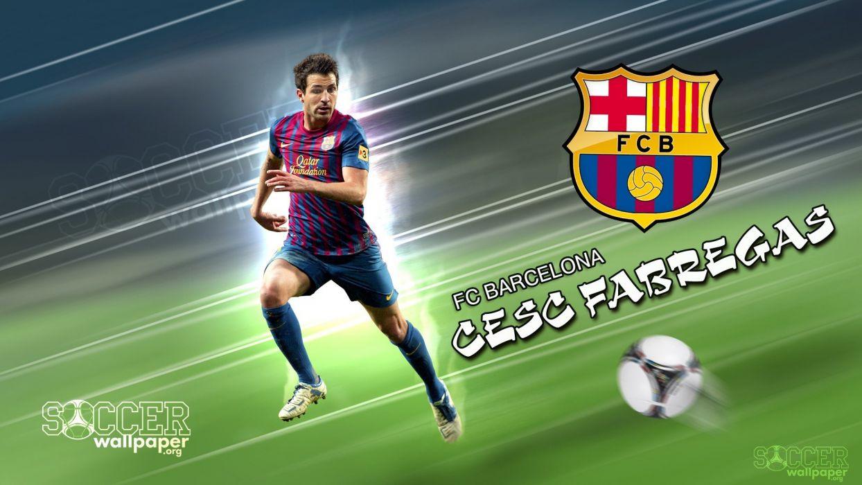 sports soccer Cesc Fabregas barAIA wallpaper