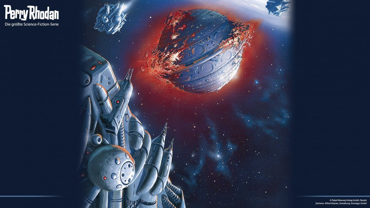 outer space magazines Perry Rhodan science fiction magazine covers widescreen wallpaper