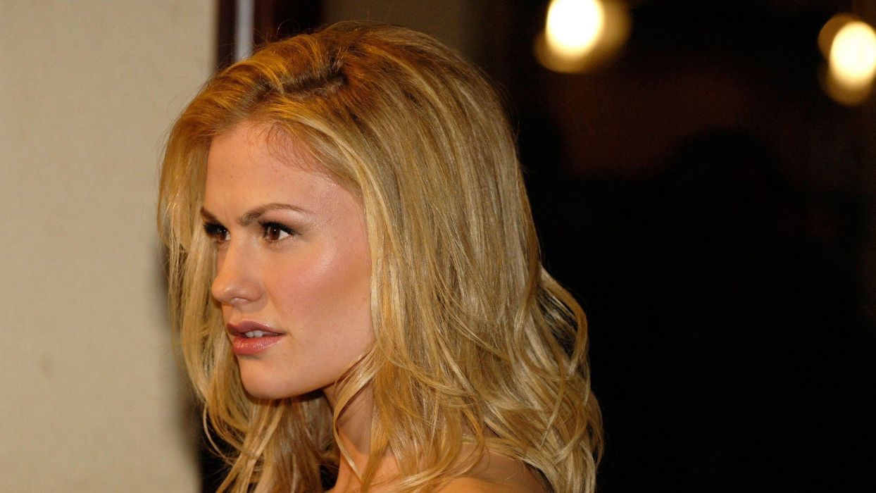 women Anna Paquin wallpaper