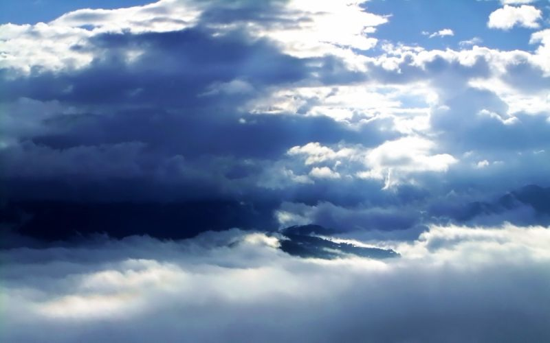 mountains clouds nature skyscapes skies wallpaper