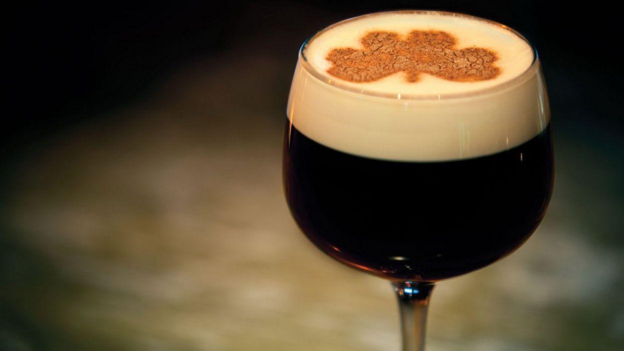 glass Irish Coffee wallpaper