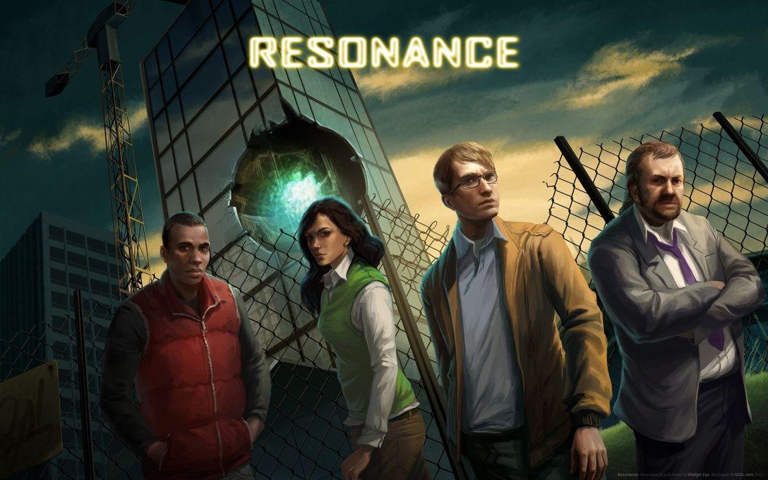 fences hospital attack game Game Art Resonance wallpaper