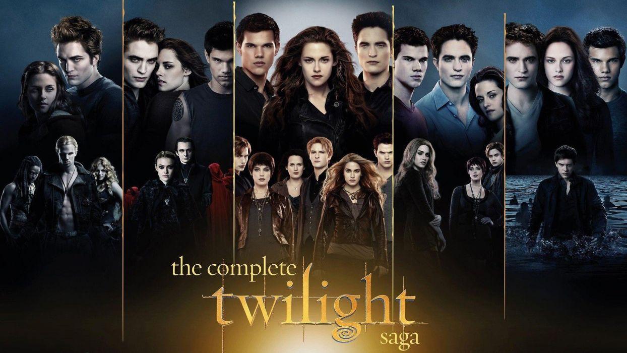 Kristen Stewart Twilight Dakota Fanning Ashley Greene Robert Pattinson Taylor Lautner Edward Cullen Jacob Black Bella Swan Peter Facinelli wallpaper