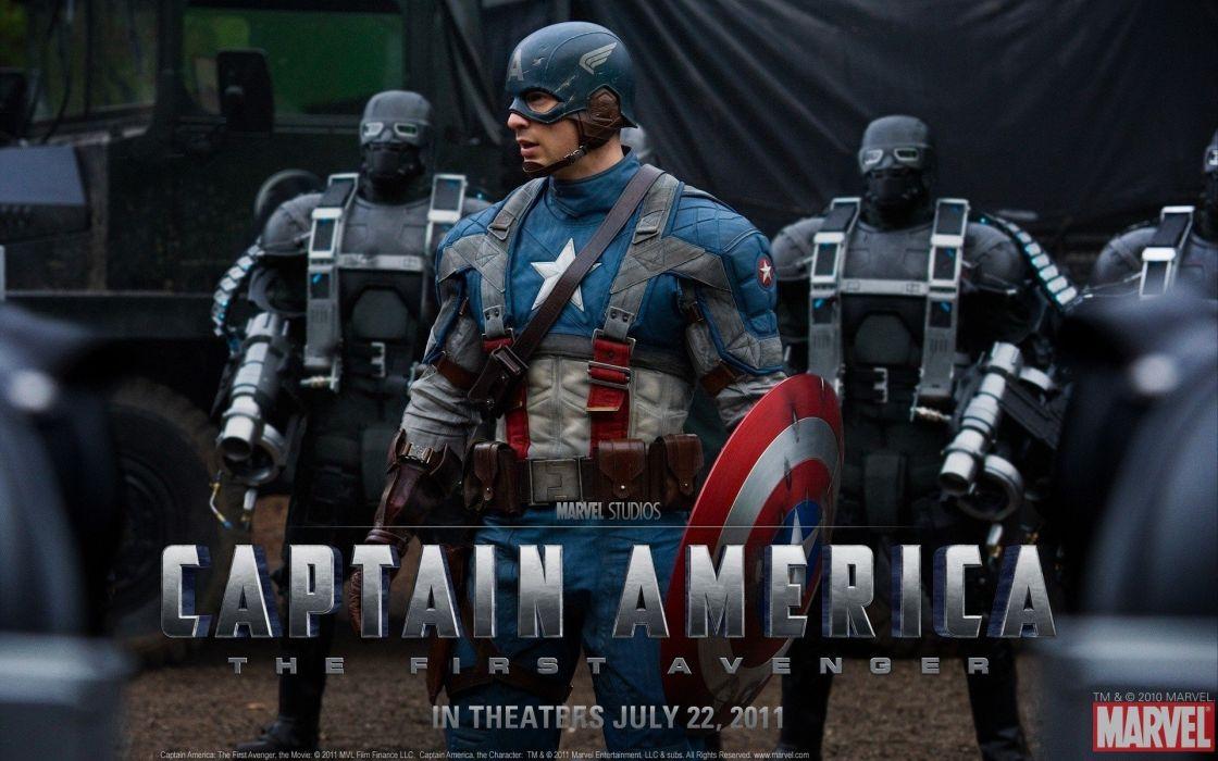 movies Captain America Chris Evans Captain America: The First Avenger wallpaper