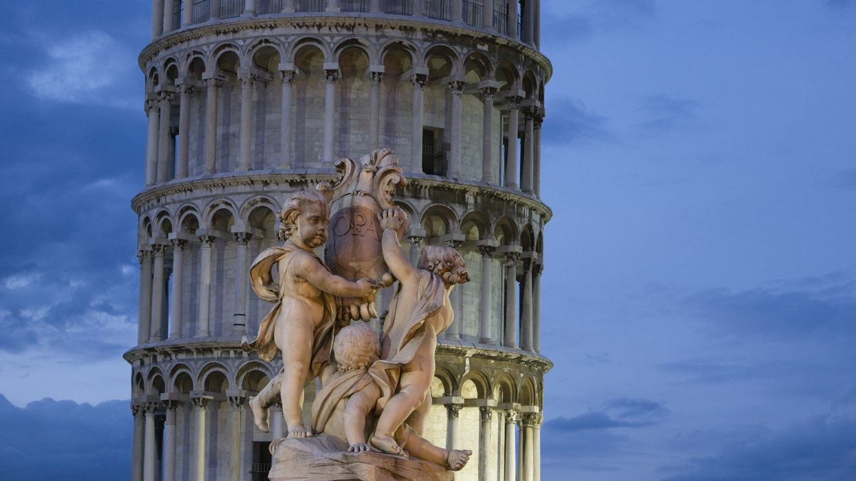 Pisa Italy Tuscany Leaning Tower of Pisa wallpaper