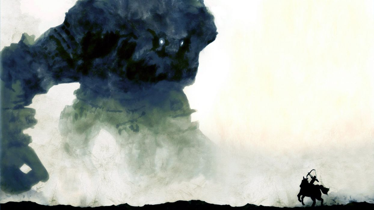 Shadow of the Colossus horsemen wallpaper