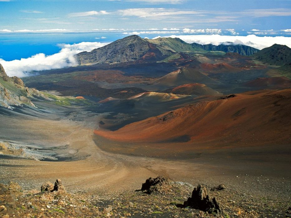 Hawaii crater National Park wallpaper