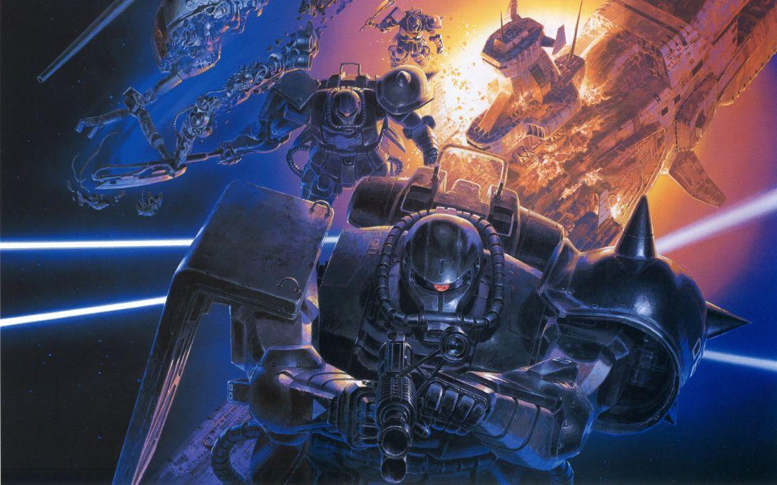 Mobile Suit Gundam zaku wallpaper