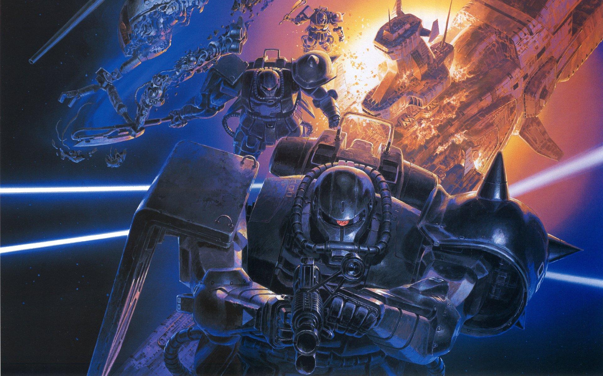 Mobile Suit Gundam zaku wallpaper | 1920x1200 | 234089 ...