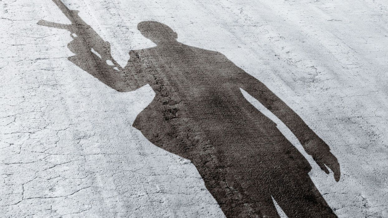 James Bond shadows wallpaper