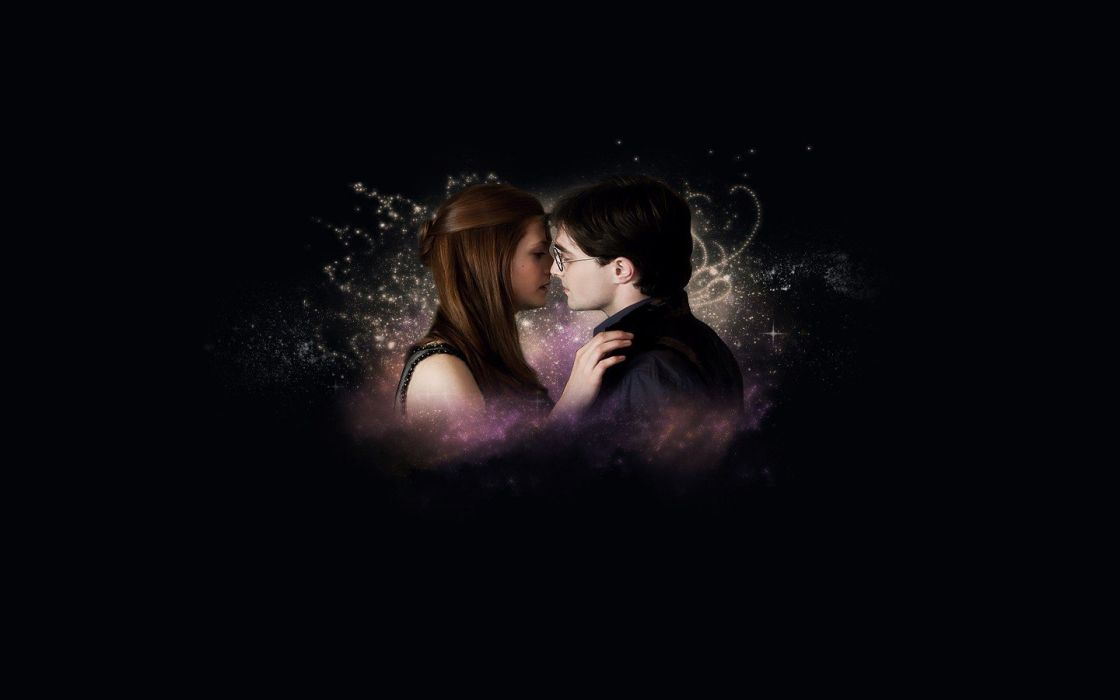 Harry Potter Bonnie Wright Daniel Radcliffe Ginny Weasley wallpaper