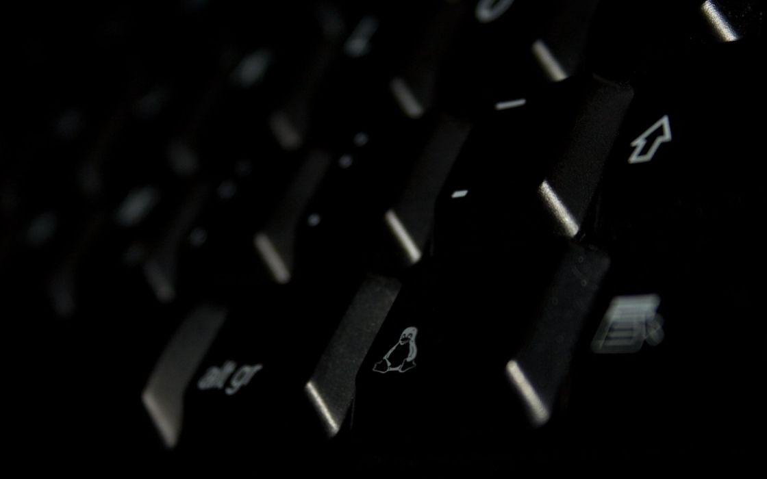 Linux keyboards tux gnu wallpaper