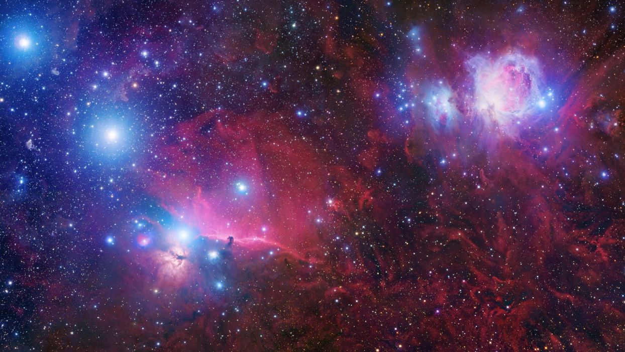 outer space stars Orion wallpaper