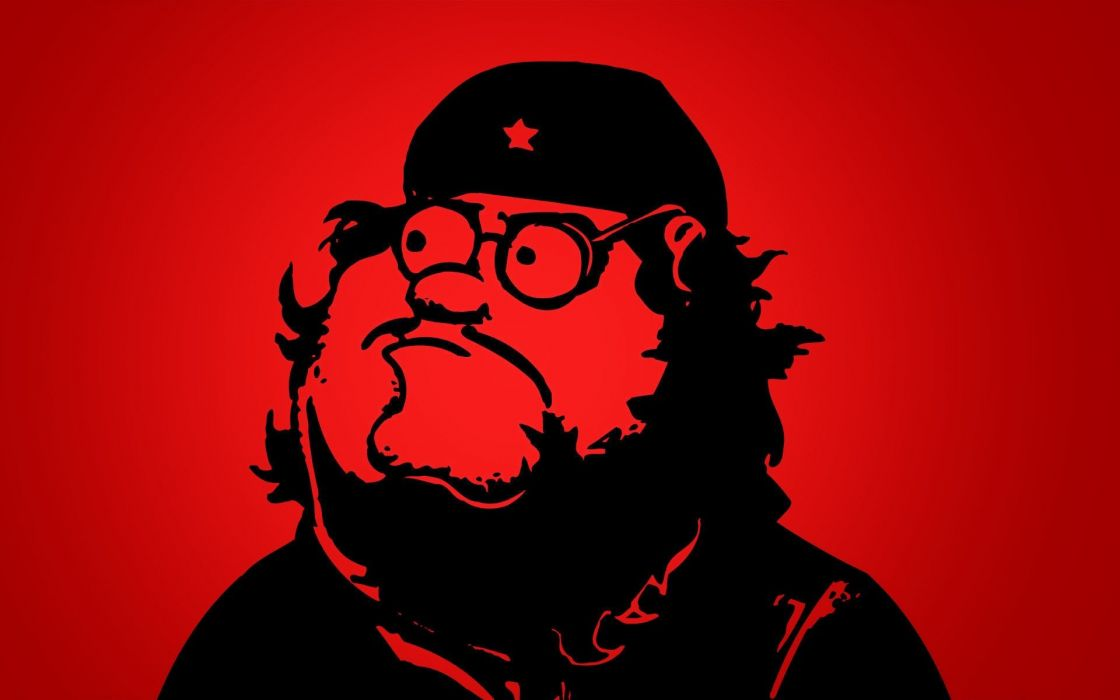 cartoons Communist Peter Griffin simple background wallpaper