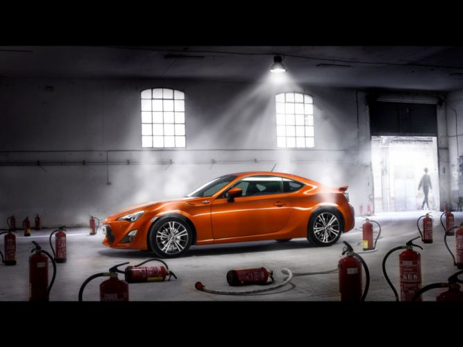 cars Toyota vehicles Toyota GT86 orange cars wallpaper
