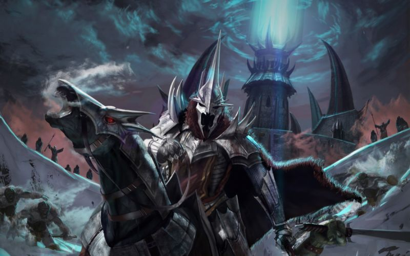 The Lord of the Rings artwork The Witch King wallpaper