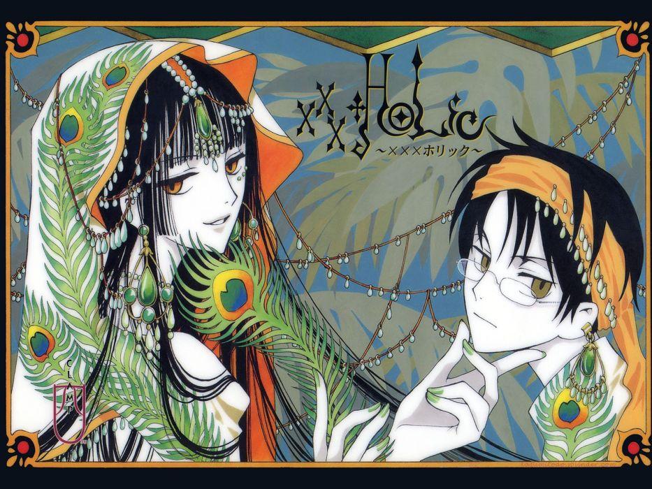xxxHolic Ichihara Yuuko Watanuki Kimihiro wallpaper