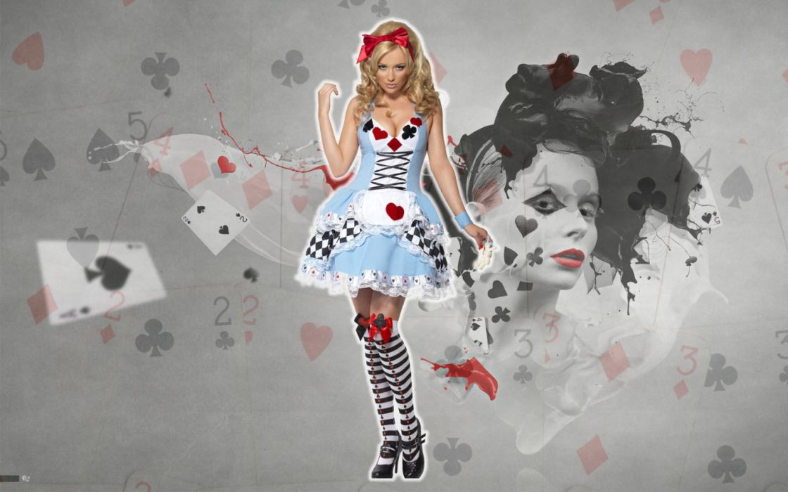 Alice Madness Returns Cosplay Dress Blonde wallpaper