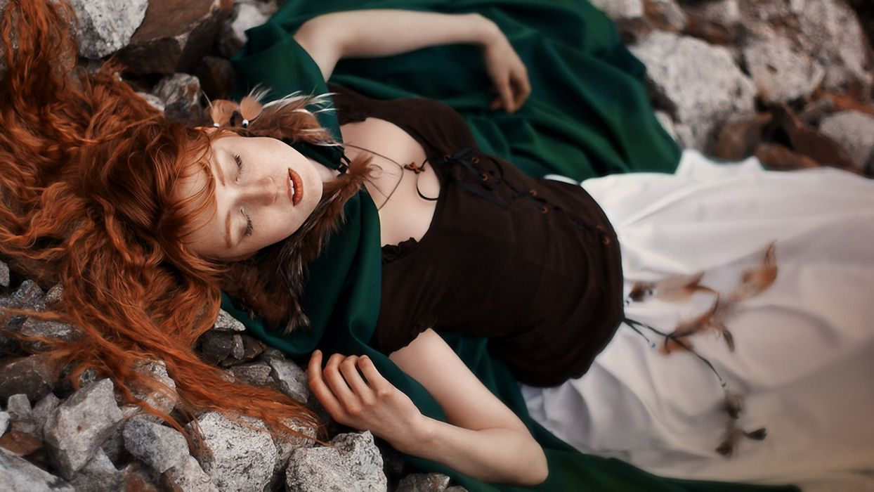 Little Red Riding Hood Redhead Cosplay wallpaper