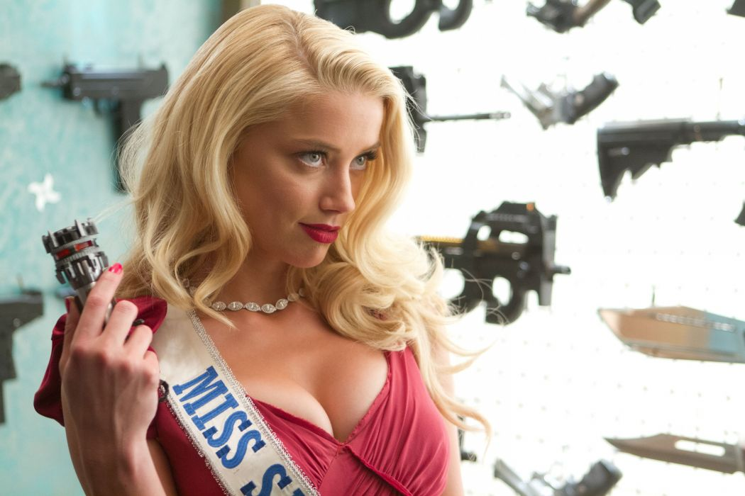 MACHETE KILLS action comedy crime amber heard sexy babe weapon gun   r wallpaper