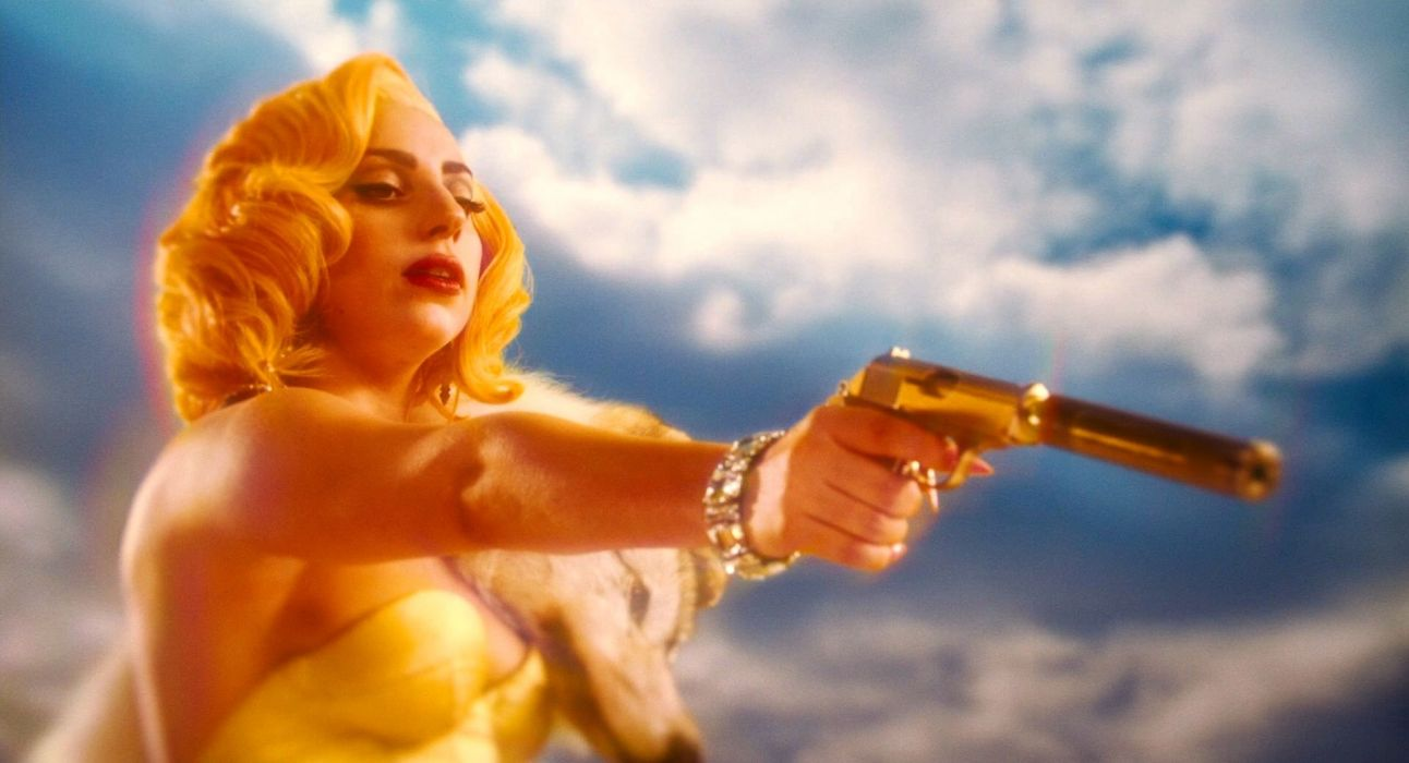 MACHETE KILLS action comedy crime sexy babe Lady GAGA weapon gun pistol   f wallpaper