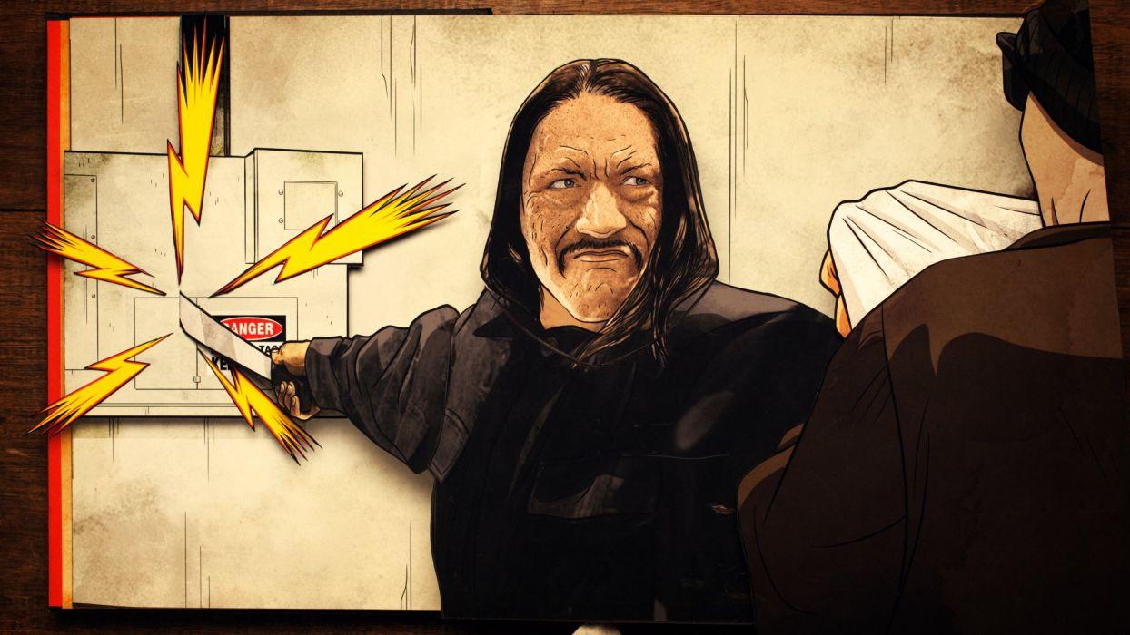 MACHETE KILLS action comedy crime weapon  ds wallpaper
