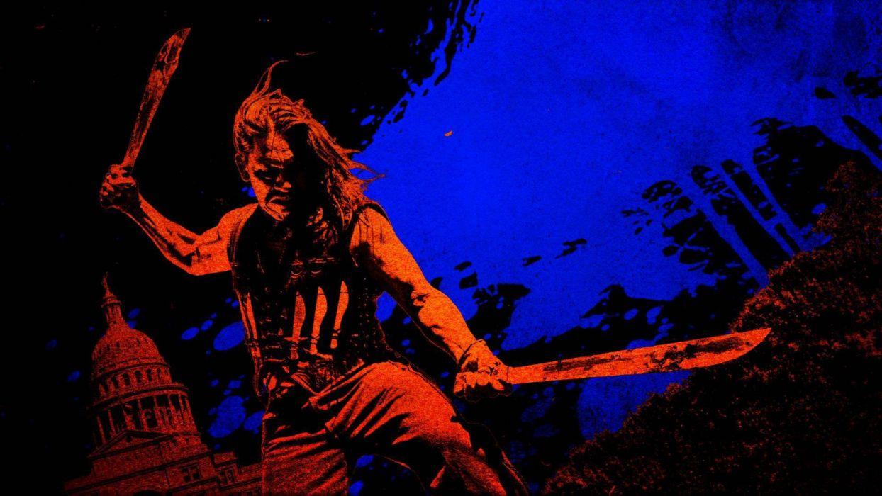 MACHETE KILLS action comedy crime weapon knife warrior dark    f wallpaper