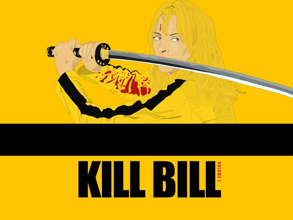 KILL BILL action crime martial arts    e wallpaper